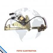 Maquina de Vidro Pt Diant Esq Elet C/Mot Fiat Tempra/Tipo 1991-1998