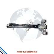 Maquina de  Vidro Pt Diant Esq Elet C/mot Gm Spin 4pts