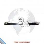 Maquina de Vidro Porta Dianteira Esquerda Elétrica  C/Motor Renault  RENAULT LOGAN 2007-2014