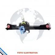 MAQUINA DO VIDRO PORTA DIANTEIRA DIREITA ELÉTRICA C/MOTOR FIAT PALIO/SIENA 2012-2016