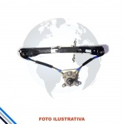 Maquina Vidro Porta Tras Esq Mec Volkswagen Polo Hatch 2002-2009