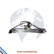 Maquina Vidro Pt Diant Esq C/Motor Chrysler Caravan/Grand 1996-1999 Original