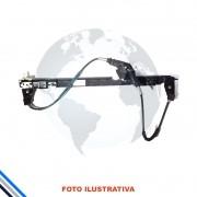Maquina Vidro Pt Diant Esq Mec Fiat Palio/Strada 1996-2016 Original