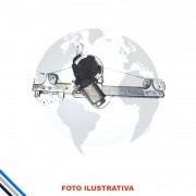 Maquina Vidro Pt Tras Dir Elet C/mot Renault Sandero/logan 4pts 2013-2016