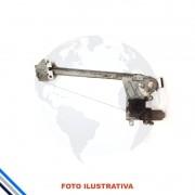 Maquina Vidro Traseira Direita Eletrica Motor Peugeot 206/207/hoggar 1999-2014