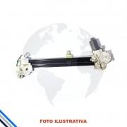 Maquina Vidro Traseira Direita Honda Fit 2009-2014