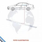 Pestana Interna Cromada Traseira Direita Toyota Corolla 1997-2002