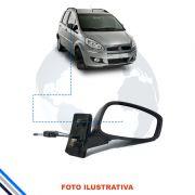 Retrovisor Externo Direito Fiat Idea 2005-2010 - Metagal C/ Manual