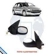 Retrovisor Externo Direito Peugeot 206 1999-2009 Original