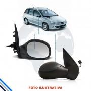 Retrovisor Externo Direito Peugeot 206/207 1999-2014