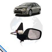 Retrovisor Externo Direito Toyota Corolla 2008-2014 -  Original C/Pisca