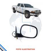 Retrovisor Externo Direito  Dakota Sport 1999-2001 Original