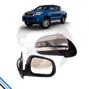 Retrovisor Externo Direito Toyota Hilux 2012-2016 - Metagal
