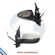Retrovisor Externo Eletrico Esquerdo Fiat Mobi 2016-2017 - Metagal