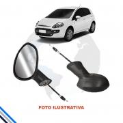 Retrovisor Externo eletrico  Esquerdo Fiat Punto 2007-2016  original