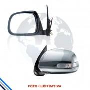 Retrovisor Externo Esquerdo C/recolhimento Elet Toyota Hilux 12-16 - Original