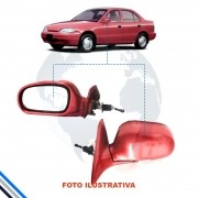 Retrovisor Externo Esquerdo Hyundai Accent Sedan 1995-2016