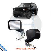 Retrovisor Externo Esquerdo Jeep Renegade 2015-2016 Original