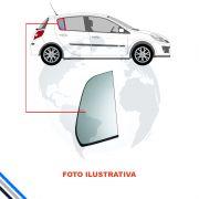 Vidro Oculo Fixo Porta Traseiro Direito Ford Fiesta (4Pts) 1996-2001