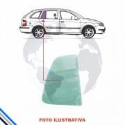 Vidro Oculo Fixo Traseiro Esquerdo Fiat Uno (vivace) 10-14