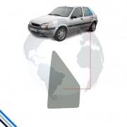 Vidro Oculo Fixo Traseiro Esquerdo Ford Fiesta (4Pts) 1996-2005