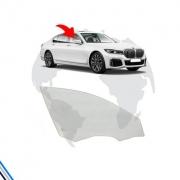 VIDRO PORTA DIANTEIRA DIREITA BMW SERIE 7 2017-2020 - ORIGINAL