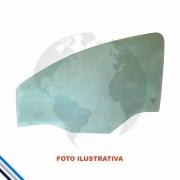 VIDRO PORTA DIANTEIRA DIREITA FORD FIESTA/COURIER 1999-2002 - PILKINGTON