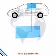 Vidro Porta Traseira Central Esquerda Grand Caravan 96-00