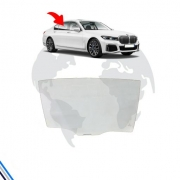VIDRO PORTA TRASEIRA DIREITA BMW SERIE 7 2017-2020 - ORIGINAL