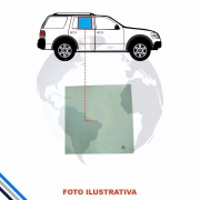 VIDRO PORTA TRASEIRA ESQUERDA GM ZAFIRA 2001-2012 ORIGINAL