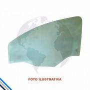 Vidro Porta Traseira Esquerda Hilux Pick-up 05-15 Solex