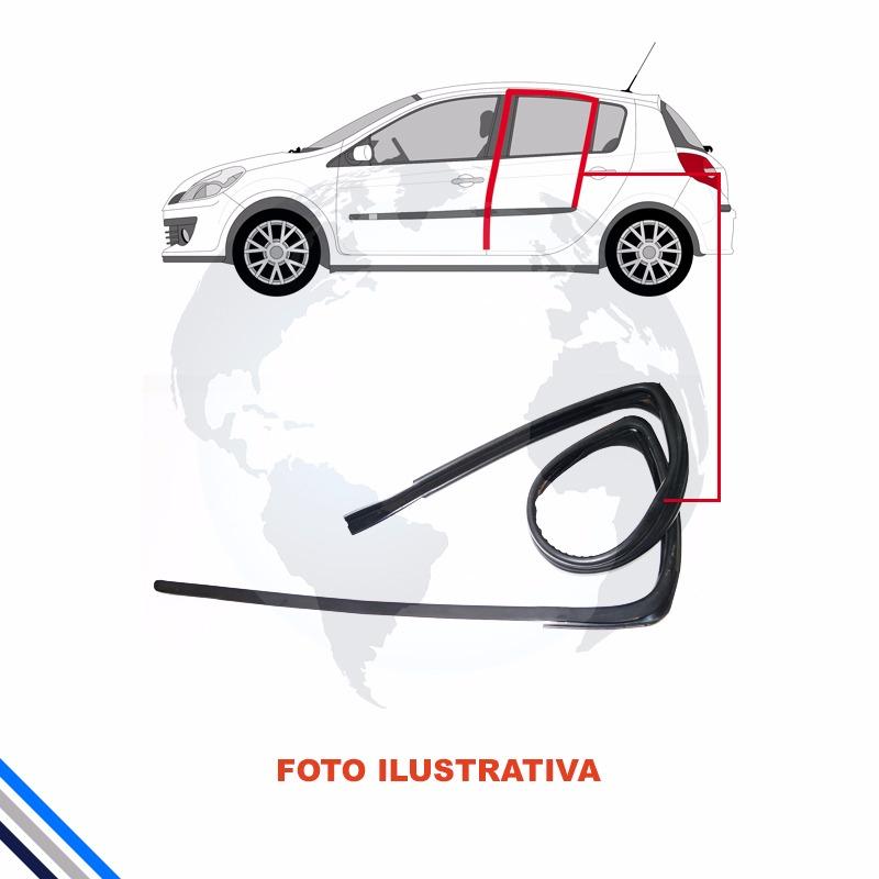 Borracha Canaleta Traseira Esq Honda Civic 1996-2000 Original