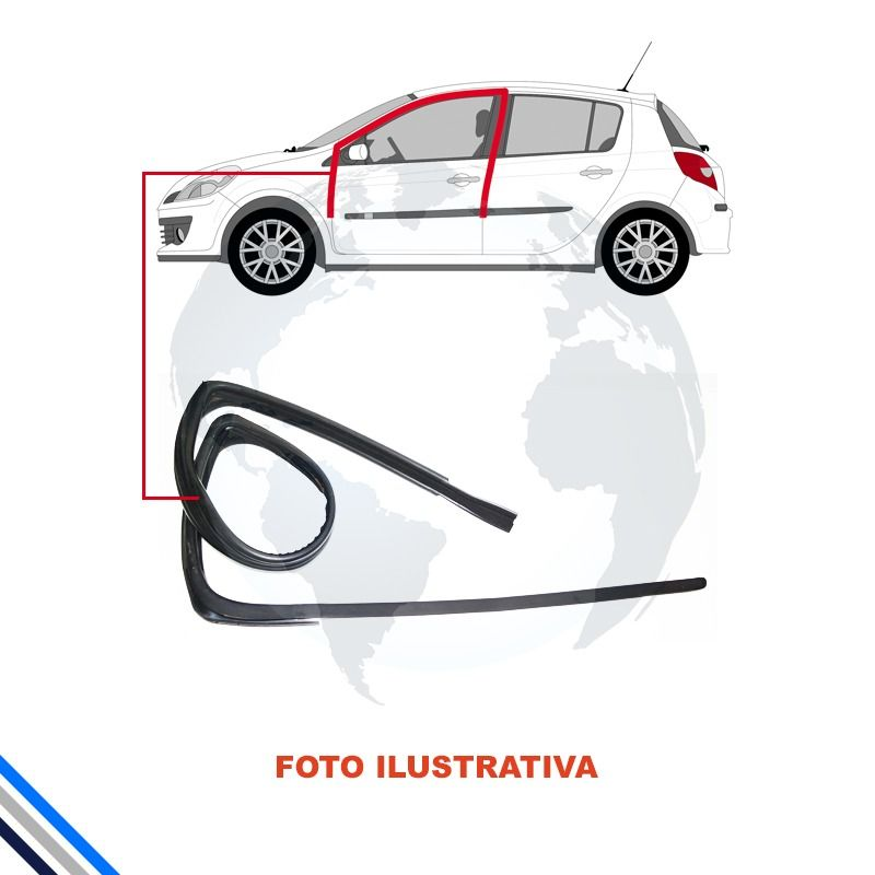 Canaleta Dianteira Esquerda Renault Sandero/logan 2013-2016
