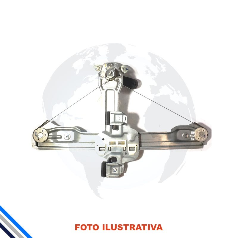 Maquina De Vidro Tras Esq Gm Celta/Prisma 2007-2016 Manual