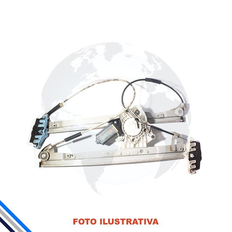 Maquina Vidro Dianteira Direita Peugeot 206/207/Hoggar 1999-2014