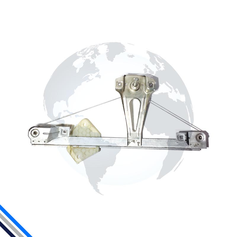 Maquina Vidro Porta Tras Dir Clio/Symbol 1999-2016 Manual  Original