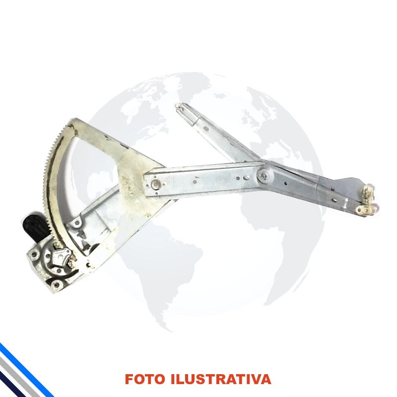 Maquina Vidro Pt Diant Dir Mec Gm Celta 2000-2006