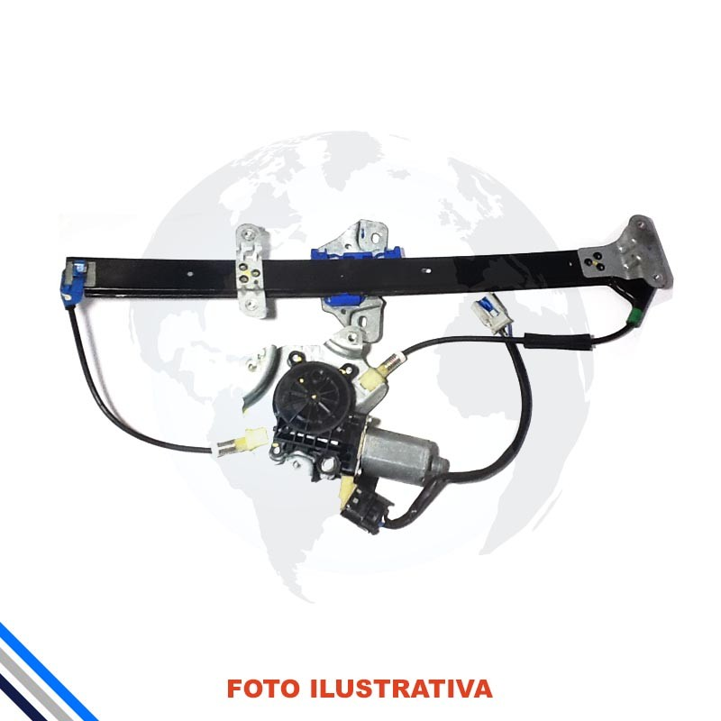 Maquina Vidro Pt Diant Esq C/Mot Honda Fit 2003-2008 Original