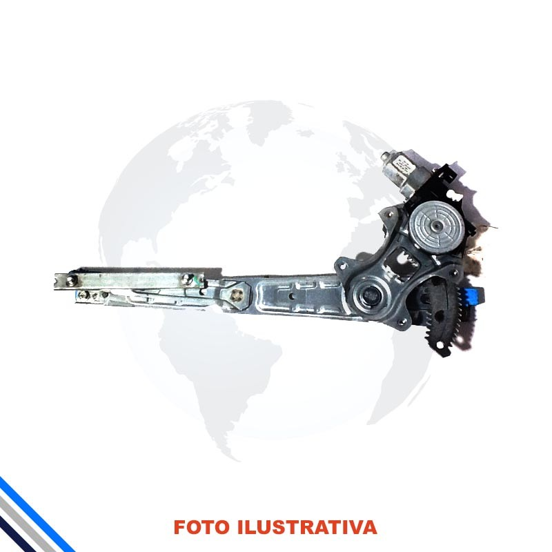 Maquina Vidro Pt Diant Esq  C/Motor Nissan March/Versa 2012-2016 Original