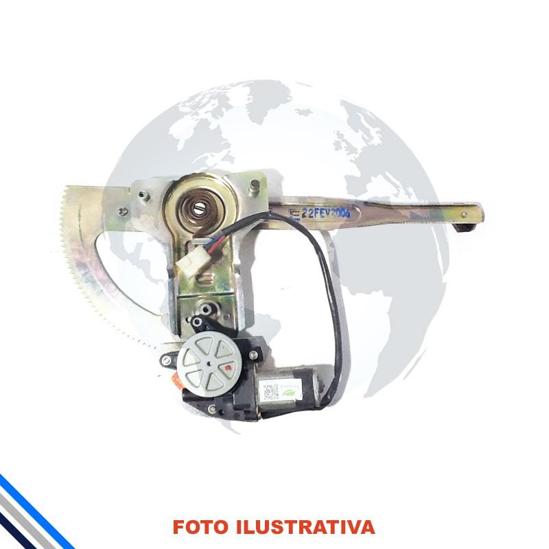 Maquina Vidro Pt Diant Esq  C/Motor Ranger 1994-2011Original