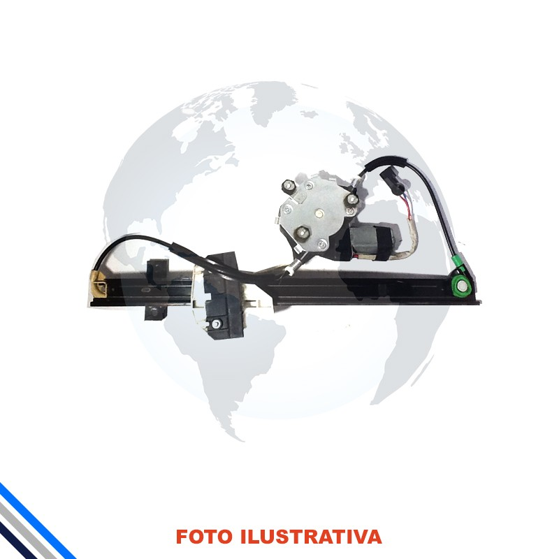 Maquina Vidro Pt Diant Esq Elet C/Mot Ford Ka 2008-2014 Original