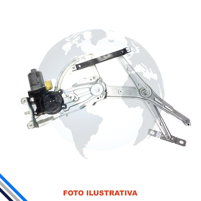 Maquina de Vidro Porta Dianteira Esquerda Elétrica C/Motor Chevrolet ASTRA / VECTRA 4 Portas 2005-2011