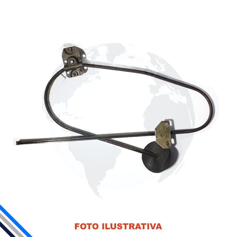 Maquina Vidro Pt Diant Esq Mec Brasilia/Variant 1973-1981Original