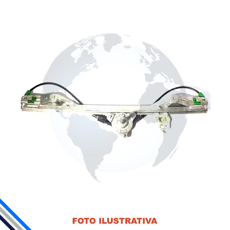 Maquina Vidro Pt Tras Dir Mec Fiat Idea 2005-2016 Original