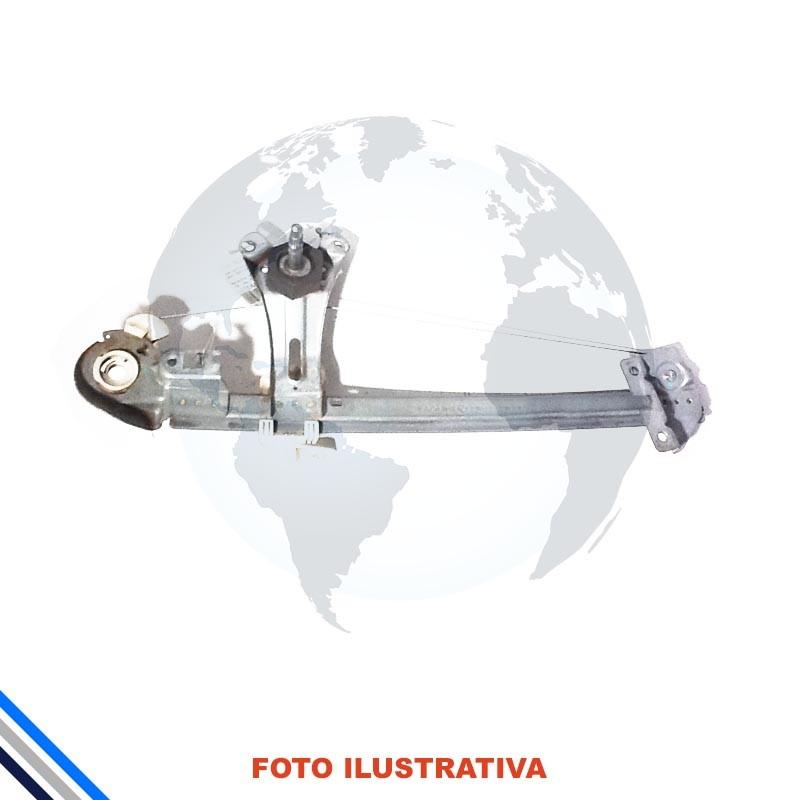 Maquina Vidro Pt Tras Dir Mec Peugeot 206/207 2008-2014 Original