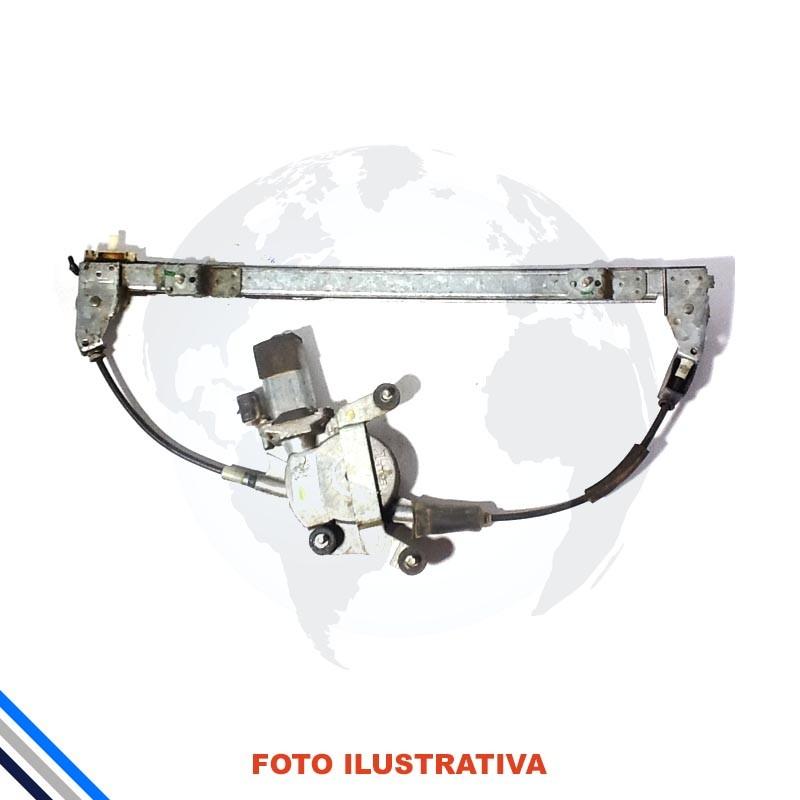 Maquina Vidro Pt Tras Esq Elet C/Motor Palio/Week/Siena 1996-2016 Original