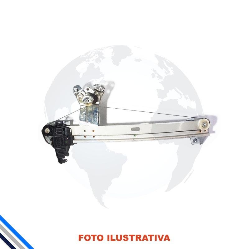 Maquina Vidro Pt Tras Esq Mec Peugeot 206/207 2008-2014 Orig