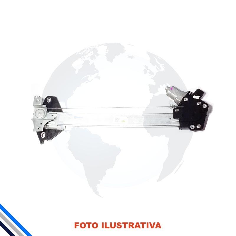 Maquina Vidro Tras Esqu Honda Civic 2007-2011 Original