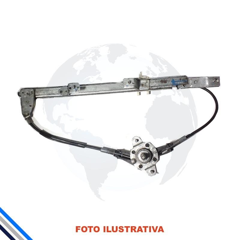 Maquina Vidro Tras Mec  Direita Fiat Palio/Week/Siena 1996-2016