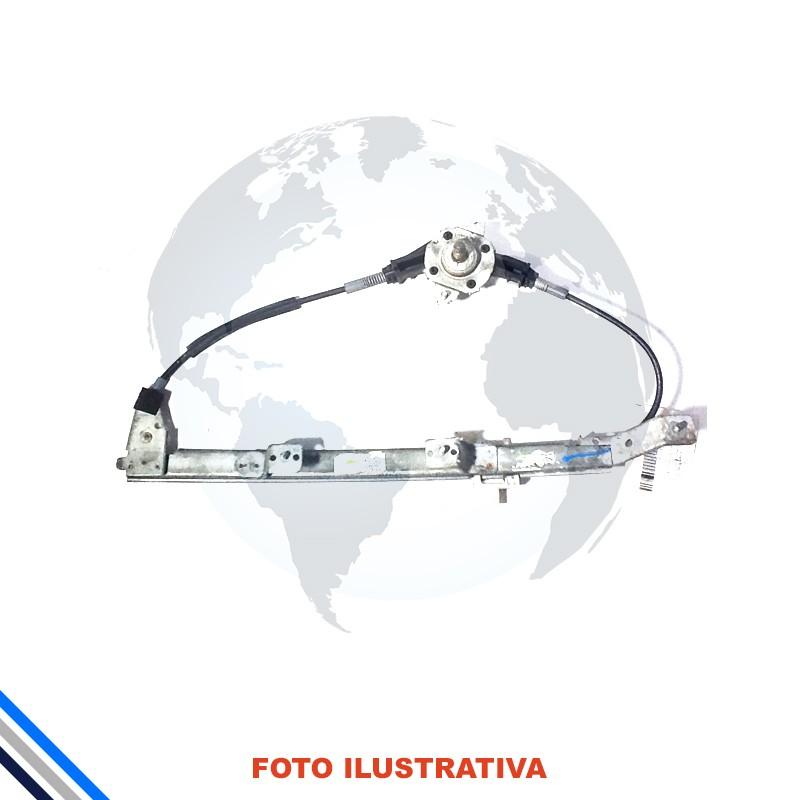 Maquina Vidro Trás Mec Esquerda Fiat Palio/Week/Siena 1996-2016